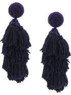 Sachin & Babi Chacha Earrings - Blue