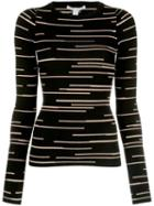 Autumn Cashmere Knitted Top - Black