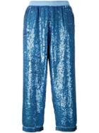 Ashish Sequin Embellished Pants