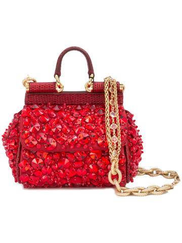 Dolce & Gabbana Dolce & Gabbana Bb6494av726 Red Leather