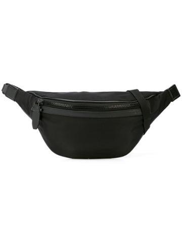 Neil Barrett Zipped Waist Bag - Black