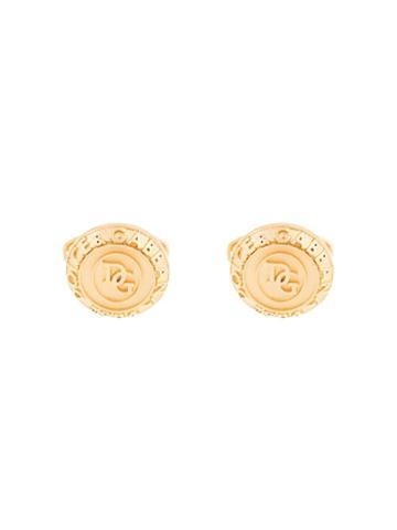 Dolce & Gabbana Dg Logo Cufflinks - Gold
