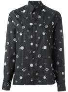 Kenzo 'tanami Check' Shirt, Women's, Size: 36, Black, Cotton