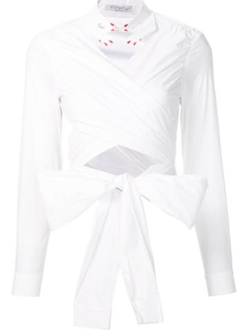 Vivetta Cropped 'vivetta' Shirt