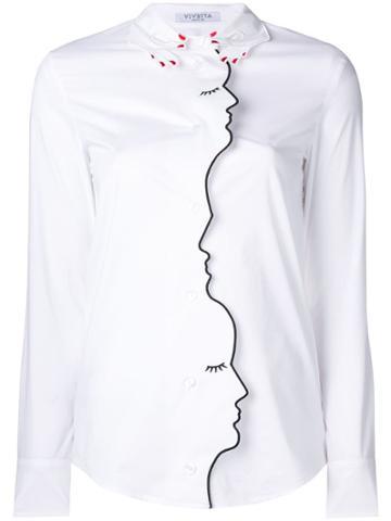 Vivetta Vivetta 84vp284 1 Natural (veg)->cotton - White