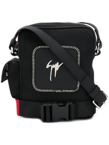 Giuseppe Zanotti Skye Messenger Bag - Black