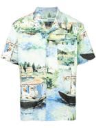 Off-white Printed Shirt - Multicolour