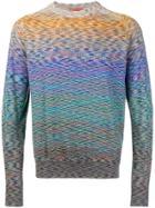 Missoni Crewneck Sweater - Pink & Purple