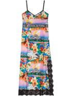 Gucci Hawaiian Print Silk Dress - Multicolour