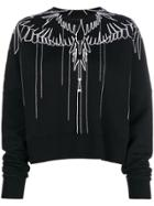 Marcelo Burlon County Of Milan Graphic Sweatshirt - Black