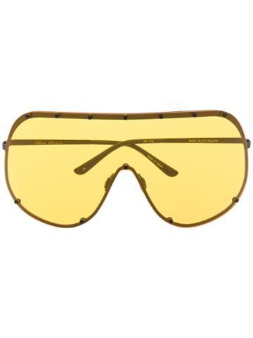 Rick Owens Larry Sunglasses - Yellow