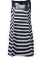 Sacai Striped A-line Dress