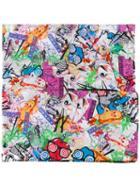 Kenzo - Flyer Scarf - Women - Silk/cotton - One Size, Silk/cotton