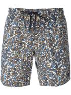 Fendi Printed Swim Shorts