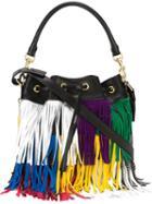 Saint Laurent Medium Emmanuelle Bucket Bag, Women's, Black, Leather