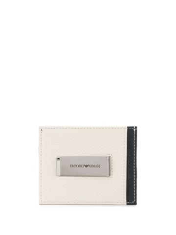 Emporio Armani Colour Block Wallet - Blue