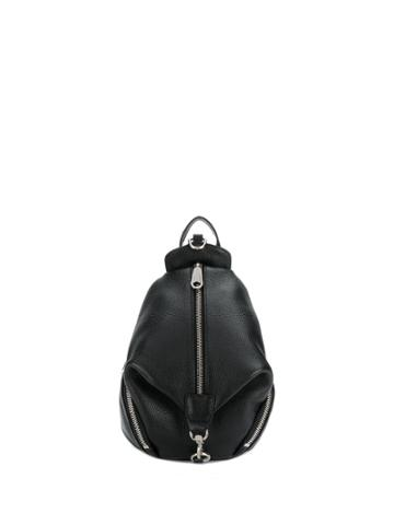 Rebecca Minkoff Convertible Mini Julian Backpack Pebble - Black