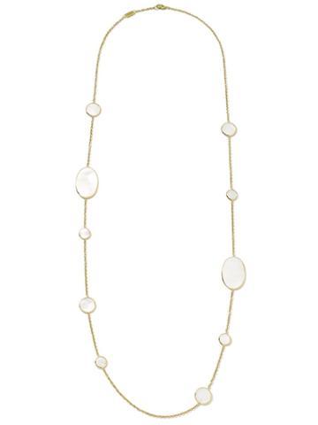 Ippolita Station Necklace In 18k Gold
