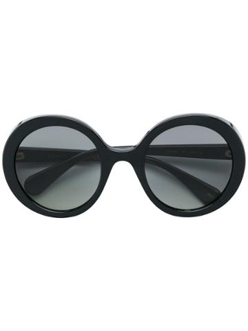 Gucci Eyewear Round Tinted Sunglasses - Black