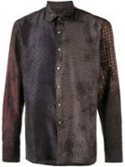 Lanvin Patchwork Tile Print Tshirt