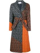 Osman Embroidered Jacquard Coat