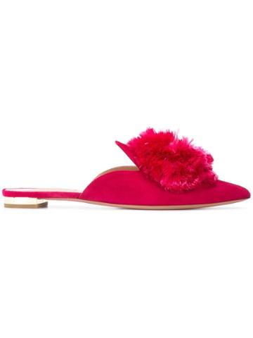 Aquazzura Aquazzura Pwpflaa1sue984 Pink Artificial->artificial Leather
