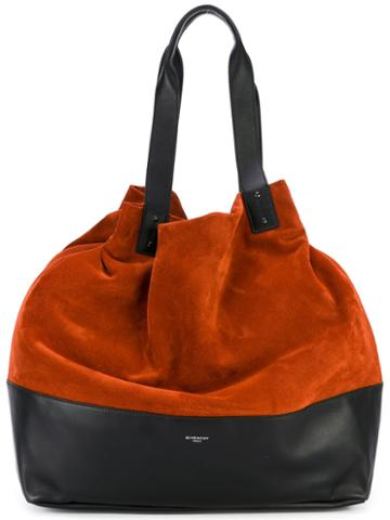 Givenchy - Slouchy Shoulder Bag - Women - Calf Leather/suede - One Size, Yellow/orange, Calf Leather/suede