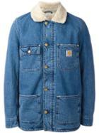 Carhartt Phoenix Denim Jacket, Men's, Size: Large, Blue, Cotton/polyester