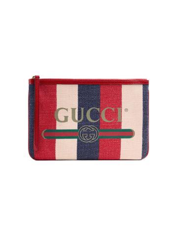 Gucci Gucci Print Pouch - Multicolour