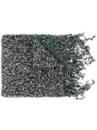 Marni Patterned Scarf - Green