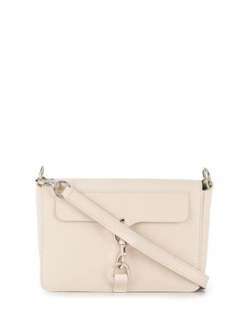 Rebecca Minkoff Mab Flap Crossbody Bag - Neutrals