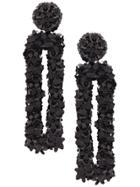 Sachin & Babi Fleur Dawn Earrings - Black
