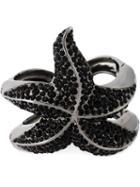 Roberto Cavalli Embellished Sea Star Bracelet, Women's, Size: Xs, Metallic