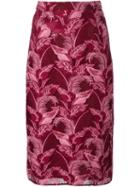 House Of Holland Lace Midi Skirt
