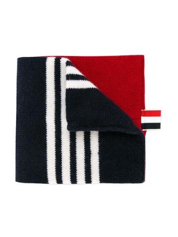 Thom Browne Kids Striped Scarf - Multicolour