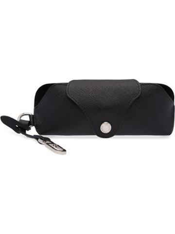 Prada Saffiano Glasses Case - Black