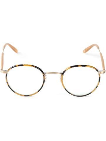 'wilson' Glasses - Unisex - Acetate - 46, Brown, Acetate, Garrett Leight