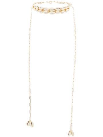 Isabel Marant Shell Necklace - Gold