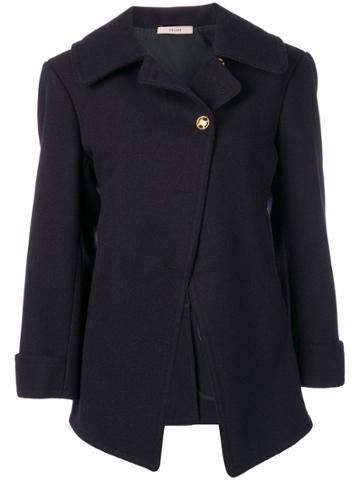 Céline Vintage 2000 Single Breasted Jacket - Blue