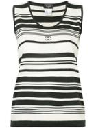 Chanel Vintage Chanel Sleeveless Top - Black