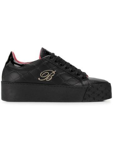 Blumarine Blumarine U5374b Black Calf Leather