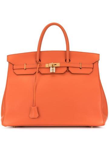 Hermès Pre-owned Birkin 40 Hand Bag - Orange