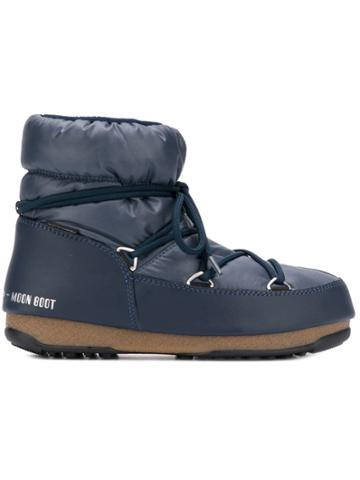 Moon Boot Ankle Snow Boots - Blue