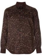 Loveless Leopard-print Shirt - Brown