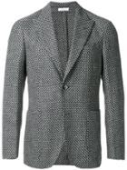 Boglioli Patterned Blazer - Grey