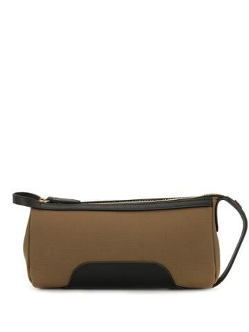 Mismo Top Zip Messenger Bag - Neutrals