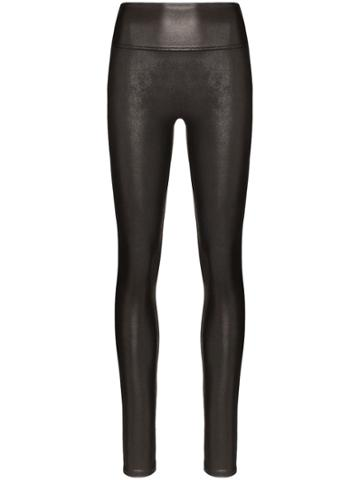 Spanx Faux Leather Leggings - Black
