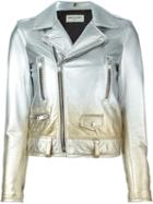 Saint Laurent Gradient Biker Jacket