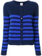Aybi Striped Cardigan - Blue