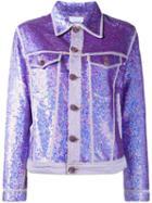 Ashish Sequin Denim Jacket